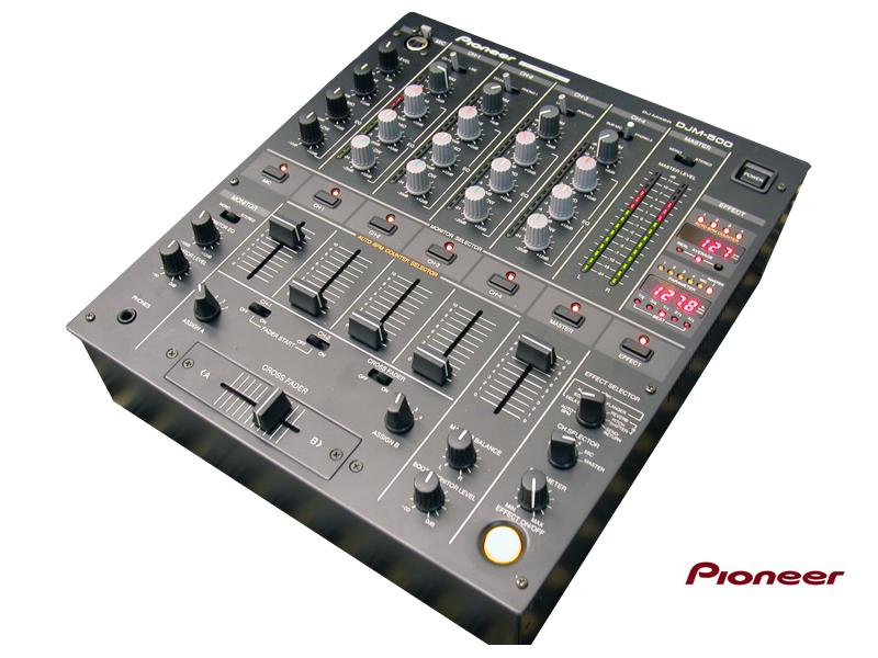 Mesa de mezclas dj digital djm 500 pioneer - Mesa dj pioneer ...