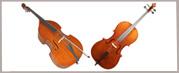 Cellos y Contrabajos