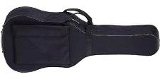 FUNDA ACOLCHADA CG PARA - Funda de loneta plastificada. Acolchado interior de 10mm. Con asa, mochila y bolsa con cierre. Color negro.