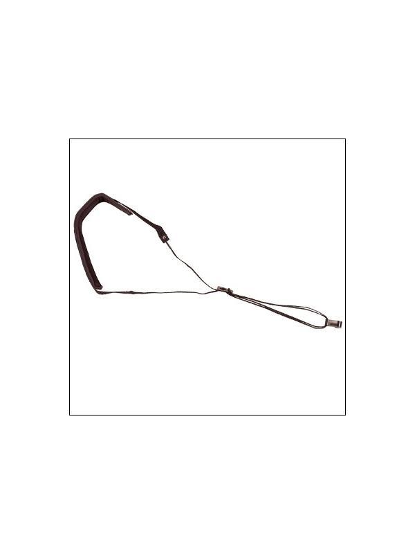 CORDON GUITARRA REF. N. 3 SE - Cordones de cinta de nylon con pieza de piel acolchada para el descanso del cordón sobre el cuello.