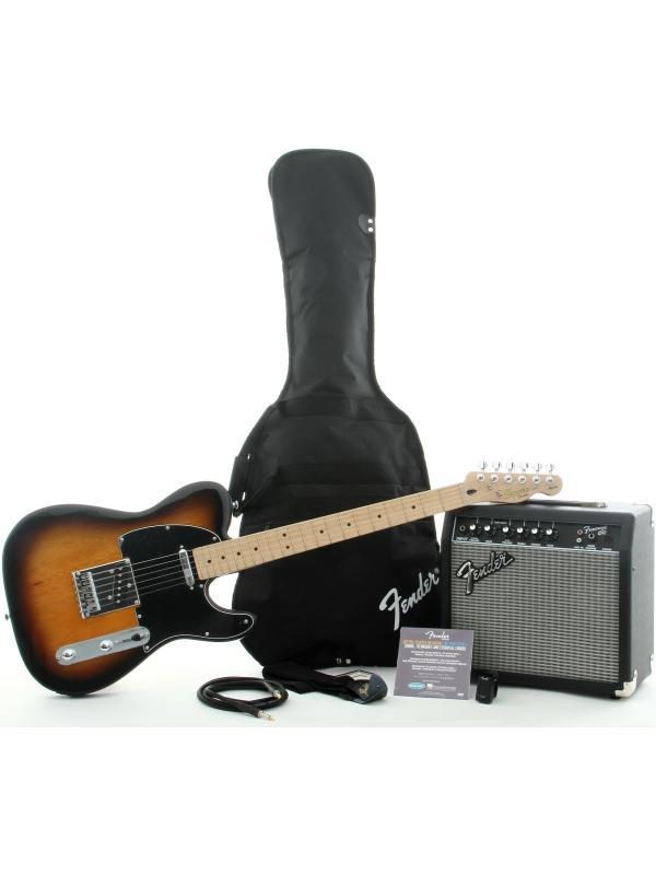 PACK DE GUITARRA ELÉCTRICA FENDER SQUIER TELECASTER - Pack de Guitarra Eléctrica Squier Affinity Series Telecaster con Fender Frontman 15G Amp. Acabado Brown Sunburst.