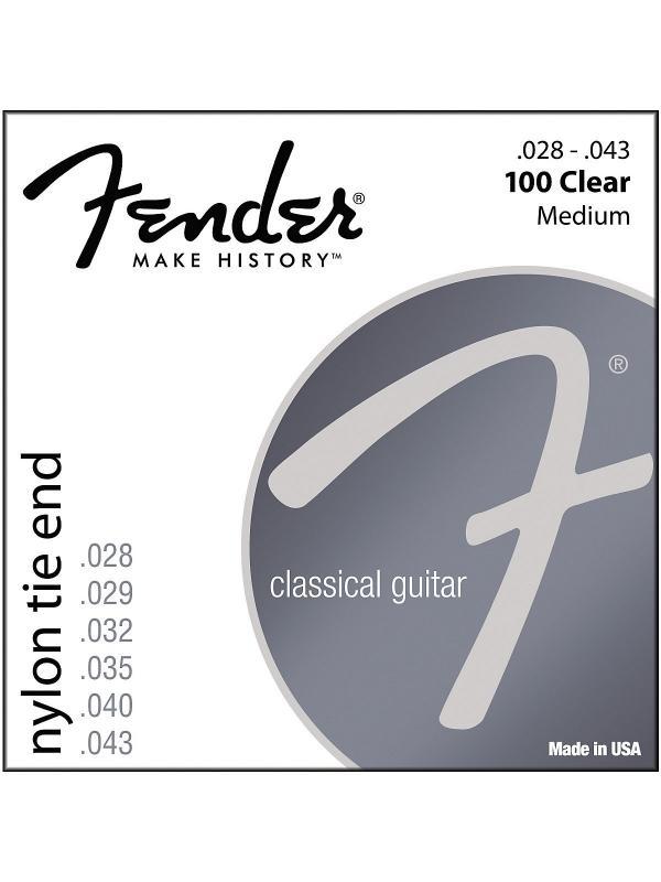 JUEGO DE CUERDAS PARA GUITARRA CLÁSICA - Cuerdas para guitarra clásica Nylon - Tie/Ball End -
