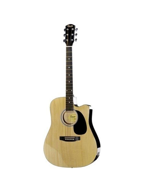 GUITARRA ACUSTICA FENDER SA-105 NATURAL CUTAWAY - La guitarra acústica SA-105 por Fender Suqier tiene el sonido y la sensación de que uno esperaría de guitarras a un rango de precios completamente diferente. Representa un excelente compromiso del sonido y cuidado estético de los detalles, a un precio razonable. Todo ello basado en la garantía de la marca Fender