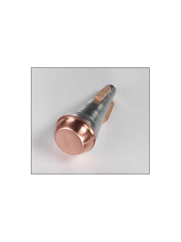 SORDINA PARA CORNETA - Sordina para corneta en aluminio y en aluminio y cobre.