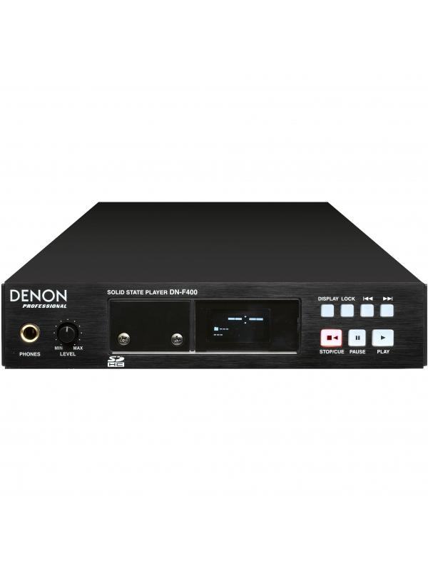 Reproductor Digital de audio de tarjetas SD/SDHC DENON DN-F400 - REPRODUCTOR DIGITAL DE AUDIO DE TARGETAS SD/SDHC DENON DN-F400