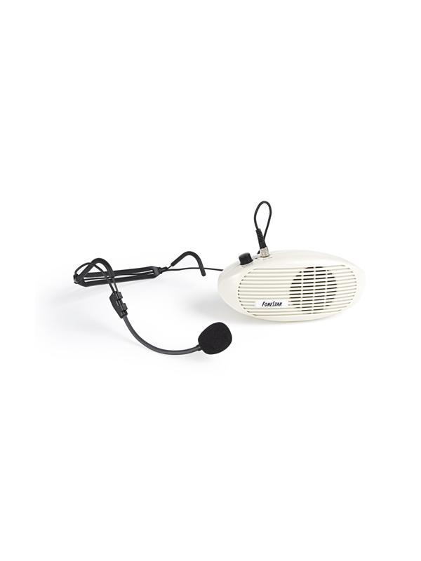 AMPLIFICADOR PORTATIL FAP-5 - Sistema de amplificación personal para cintura con micrófono de cabeza.