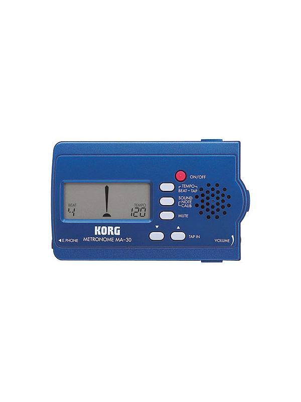 METRONOMO KORG DIGITAL MA 3030 - Un metrónomo asequible y lleno de prestaciones.