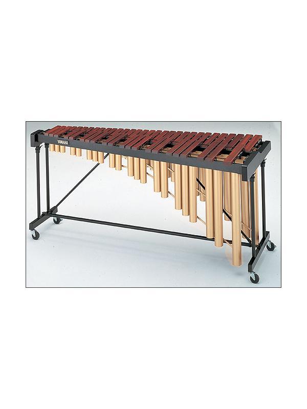 Marimba YM 1430 Yamaha - La marimba YM 1430 tiene, al igual que la marimba YM 40, barras de tono hechas de selecto padauk que ofrece un equilibrio ideal entre la calidad y el precio.