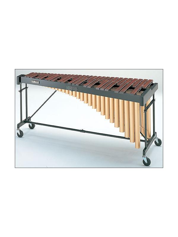 Marimba YM 2400 Yamaha - El Acoustalon™ es una madera artificial con un hermoso sonido,un sonido como el del palisandro natural.  Si desea otro modelo de Marimba Yamaha consultenos!!!
