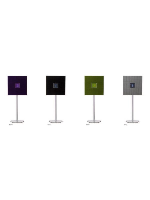 SISTEMA SUELO / PARED RESTIO ISX-80 - Mimas prestaciones que el ISX80 pero sin dock y con sistema de emparejado Bluetooth NFC con aplicación gratuita de control , tecnología DSP que llena la habitación con sonido y acabados de colores diferentes.