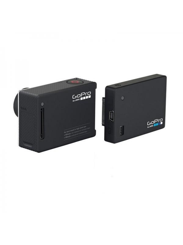 BATERIA PACPAC PARA HERO 3+ GOPRO - Battery BacPac es un paquete de baterías extraíble que se acopla perfectamente a tu cámara GoPro para aumentar la duración de la batería.