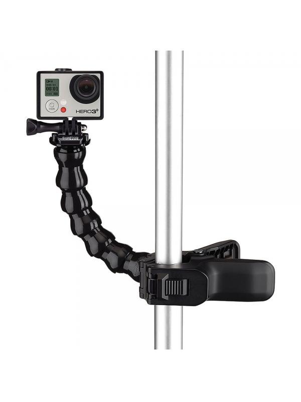 GoPro Abrazadera Flex ACMPM-001 - Coloca y traslada tu cámara GoPro de un sitio a otro de la forma más fácil. El cuello flexible te dará una mayor variedad de ángulos y cuando lo quites tendrás un montaje de bajo perfil. Sujeta tu videocámara Hero a cualquier objeto con diámetro de entre 0.6 y 5 cm.