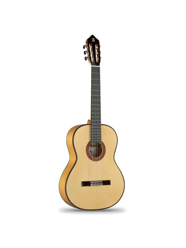 GUITARRA FLAMENCA ALHAMBRA 10Fc - El guitarrista que pruebe una de estas guitarras podrá percibir enseguida su excelente elaboración. El trabajo completamente artesanal, el estudio y la investigación que Alhambra ha realizado durante muchos años, están reflejados en estos magníficos instrumentos que lograrán hacer disfrutar al tocaor más exigente.