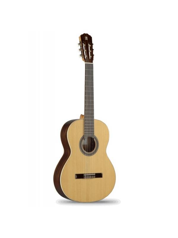 GUITARRA CLÁSICA ALHAMBRA MODELO 2C + FUNDA - Cuando la tocas por primera vez, disfrutas de una guitarra con gran volumen y claridad y también de una amplia gama de tonos. Con solo mover tu mano derecha un poquito ... ¡el timbre y el color son diferentes! Esta guitarra ofrece muchas posibilidades de interpretación.