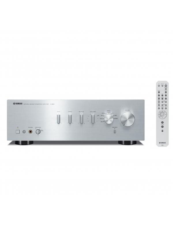 AMPLIFICADOR ESTÉREO A-S501 - Amplificador integrado de Potencia RMS: 85 x 2 (RMS a 8 Ω).en color negro y plata.