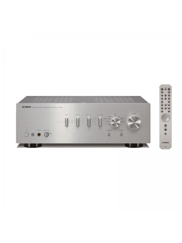 AMPLIFICADOR ESTÉREO A-S701 - Amplificador integrado de Potencia RMS (8 Ω): 100Wx2. Disponible en color negro y plata.