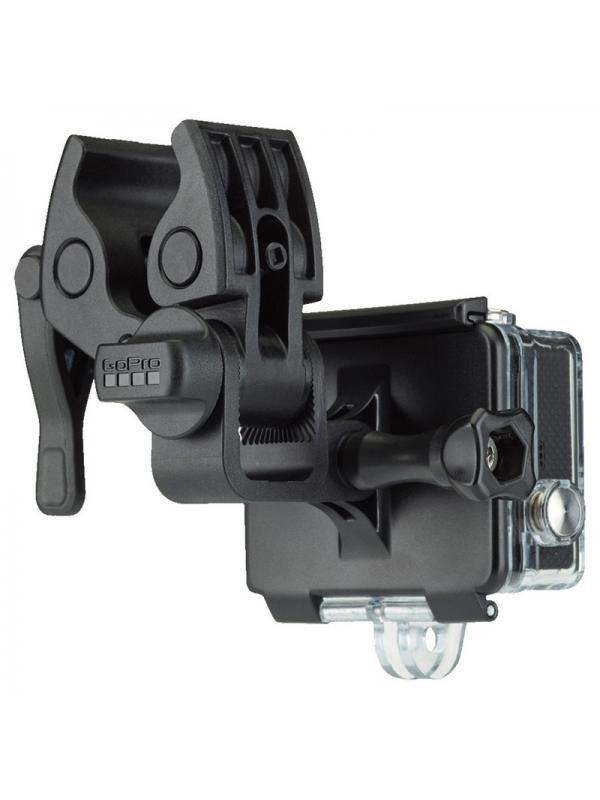 Sportsman Soporte para GoPro Hero  - Monta tu GoPro en armas, cañas de pescar y arcos. Este soporte tan versátil es compatible con la mayoría de escopetas1, rifles, revólveres y pistolas de airsoft, paintball y balines, y se ajusta a componentes de arco y cañas de pescar de entre 10 mm y 23 mm. Se pueden montar una o dos cámaras orientadas al frente y/o hacia atrás para grabar metraje envolvente desde una gran variedad de ángulos y perspectivas. El acabado negro mate, antirreflectante, garantiza una visibilidad baja. Compatible con cañones de pistolas, empuñaduras de cañas de pescar y accesorios para arcos de 10 a 23 mm de diámetro.