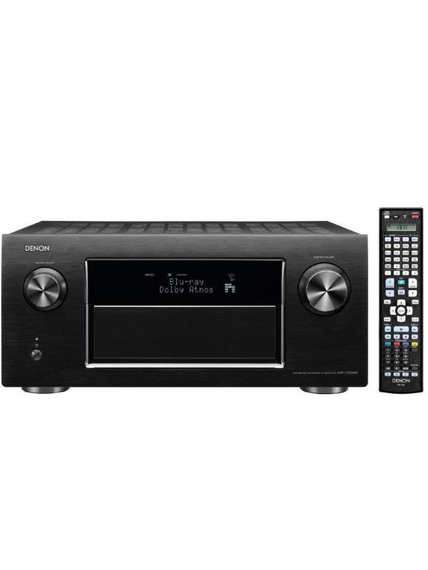 RECEPTOR A/V DE ALTA DEFINICIÓN DENON AVR-X7200 WA - Receptor Audio/Video de alta definición con bluetooth y wifi (Negro)