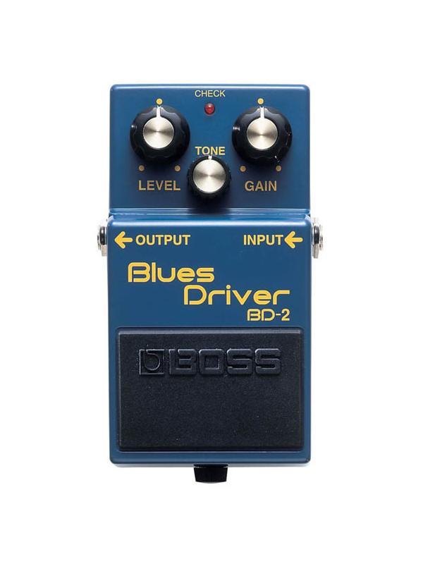 PEDAL COMPACTO DE EFECTOS BD-2 - El tono de blues clásico de un amplificador de tubos en un pedal compacto...