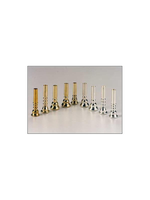 BOQUILLA PLATEADA PARA CORNETA - Boquillas para corneta plateadas: H1, H2, H3, H4 y H5.