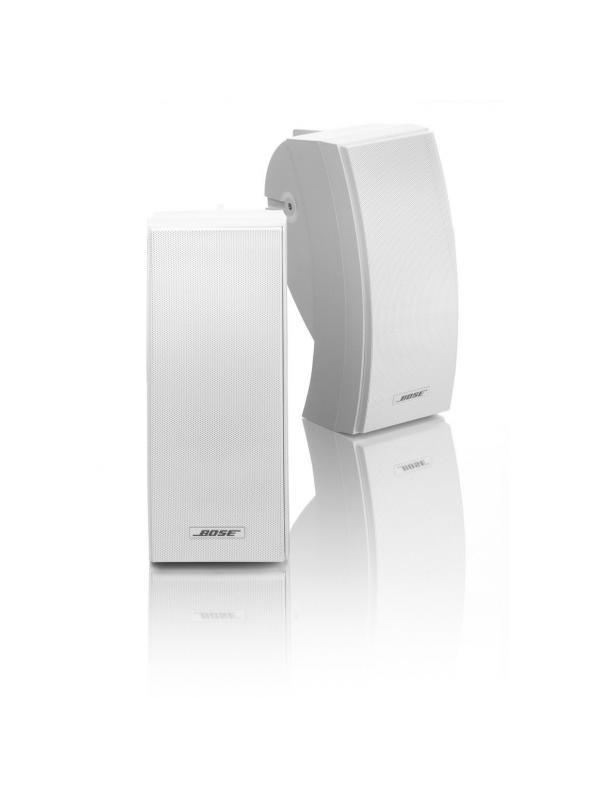 BOSE 251 ENVIRONMENTAL Color Blanco - Tope de gama en altavoces resistentes a condiciones climatológicas externas. Incluye dos unidades. Disponible en negro y en blanco.