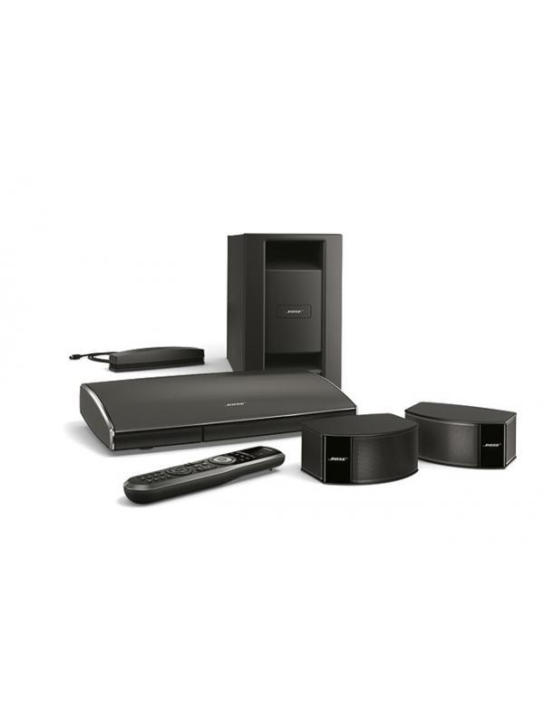 """Bose Lifestyle 235 Serie III-Sistema de cine en casa 2.1 - Sistema de sonido envolvente para películas, deportes, juegos y música con sólo 2 altavoces GEMSTONE ES y un cajón de graves. Incluye adaptador SoundTouch Wi-Fi Adapter que permite escuchar internet radio , música desde el ordenador/NAS , Spotify , Deezer y gestión de contenidos multiroom la aplicación """" SoundTouch"""" de Bose gratuita para Tabletas, smartphones y ordenador. Compatible 3 D.No compatible ni BOSE LINK ni con AIRPLAY"""