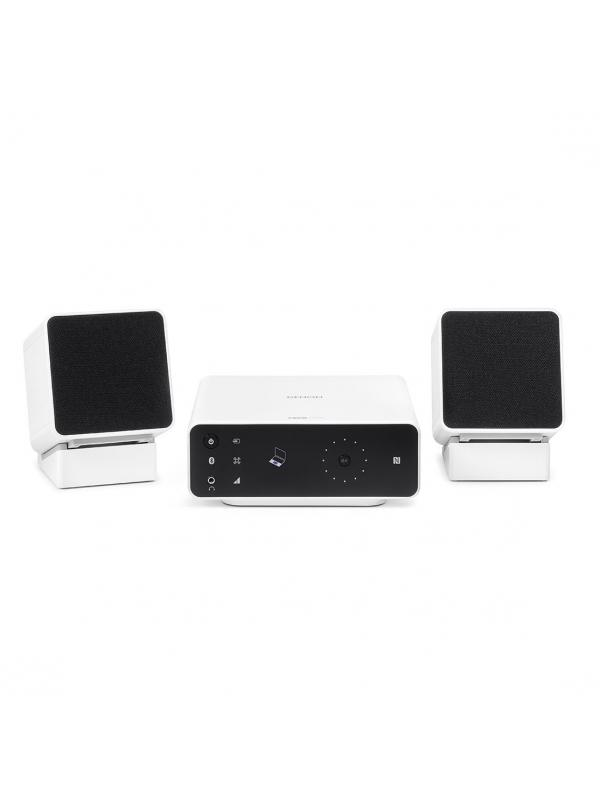 MINI CADENA CON BLUETOOHT CEOL CARINO - Sistema de altavoces Bluetooth de excelente calidad diseñado para sacar el máximo rendimiento de la música, películas, juegos y videos en el ordenador. No requiere drivers.