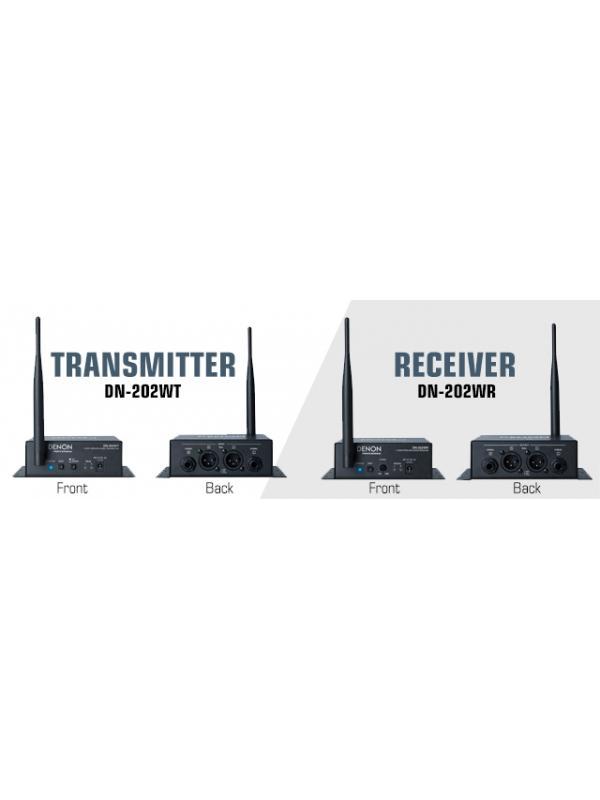 Receptor de audio inalámbrico DENON DN-202WR - Receptor de audio inalámbrico DENON DN-202WR