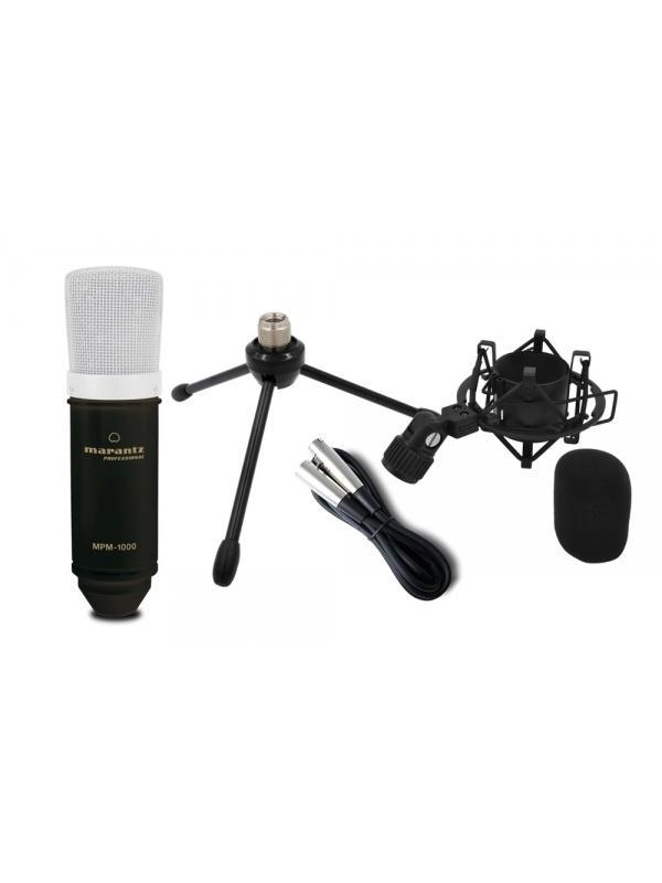 MICRÓFONO MARANTZ MPM-1000 - Micrófono de condensador de gran diafragma. MARANTZ MPM-1000