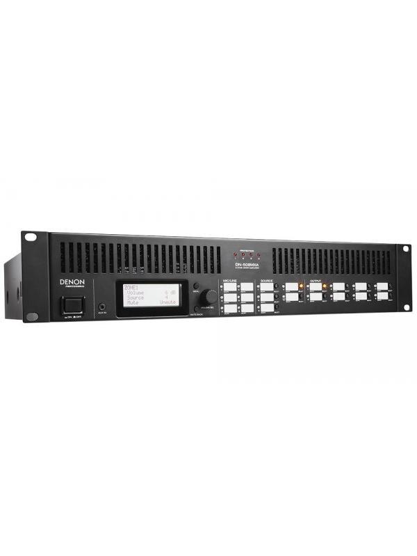 MEZCLADOR ZONAL DENON DN-508MXA - Mezclador zonal con amplificación. DENON DN-508MXA