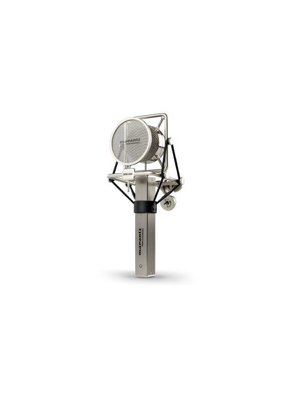 MICRÓFONO MARANTZ MPM-3000 - Micrófono de condensador de gran diafragma. MARANTZ MPM-3000