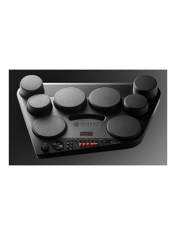 PERCUSION DIGITAL YAMAHA DD-75 - Disfrute una gran variedad de sonidos de percusión de todo el mundo  8 pads de batería sensibles a la pulsación y una disposición real de un juego de batería para una fácil interpretación. El ángulo de los pads está diseñado especialmente para lograr la máxima comodidad al tocar.