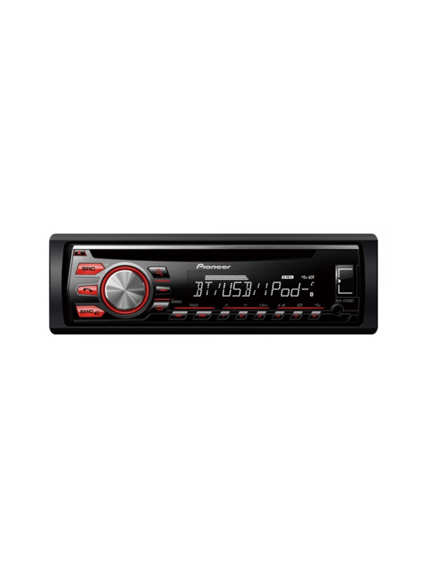 RADIO CD/MP3 PIONEER DEH-4800FD - Radio CD con sintonizador RDS, CD, Bluetooth, entrada auxiliar y USB. Soporta control directo de iPod/iPhone y Android Media Access (1DIN)