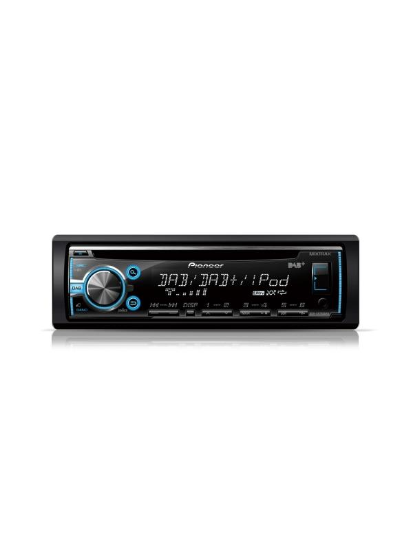 RADIO CD/MP3 PIONEER DEH-X6800DAB - Radio CD con sintonizador DAB+, Bluetooth, entradas USB y auxiliar, soporta MIXTRAX EZ control directo de iPod/iPhone y Android Media Access (1DIN)