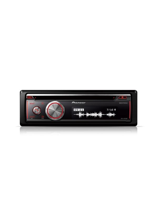 RADIO CD PIONEER DEH-X8700BT - Radio CD con Bluetooth, USB y entrada Aux. Soporta control directo para iPod/iPhone, acceso Android Media y MIXTRAX EZ (1 DIN)