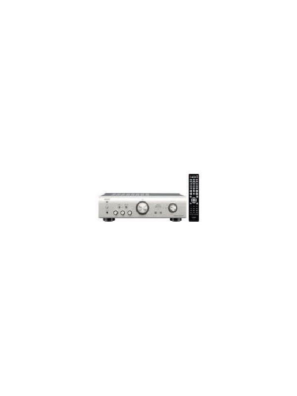 AMPLIFICADOR INTEGRADO DENON PMA-720 AE - Excelente amplificador de gama media que incorpora elementos esenciales para la obtención del sonido de alta fidelidad de Denon, como una fuente de alimentación de alta velocidad y alta capacidad. Disponible en negro y en Plata Premium.