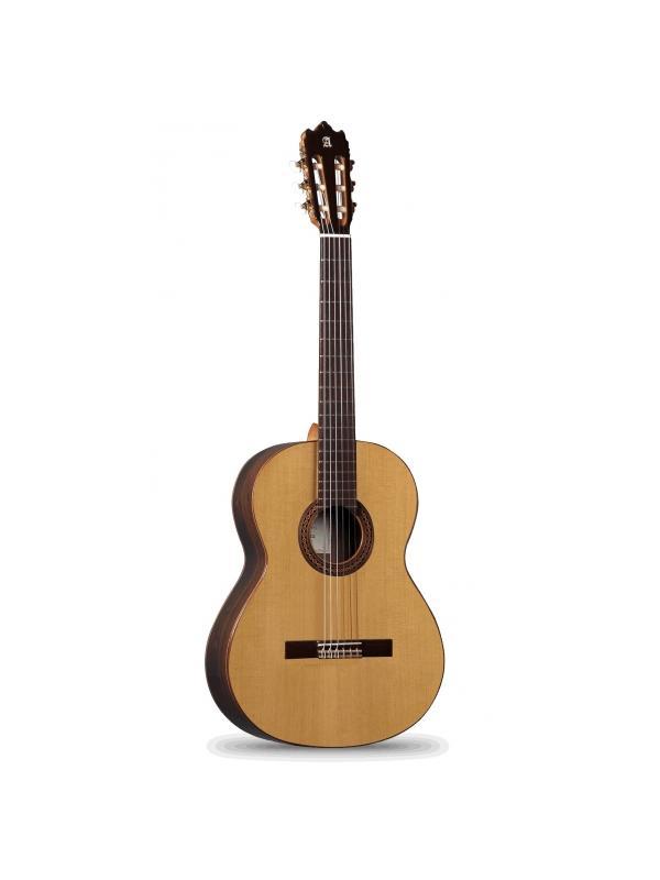 GUITARRA CLÁSICA ALHAMBRA Iberia Ziricote - El modelo Iberia Ziricote fue creado con motivo del 50 aniversario de Guitarras Alhambra (1965-2015).