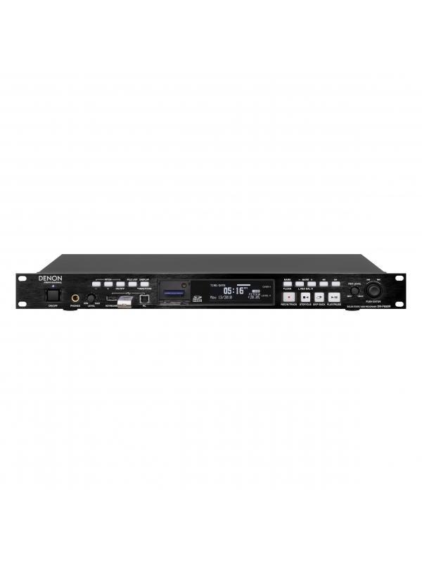 Grabador Profesional de Audio. DENON DN-F650R - Grabador Profesional de Audio en Estado Sólido  / USB. 1ud. de rack de altura. . DENON DN-F650R