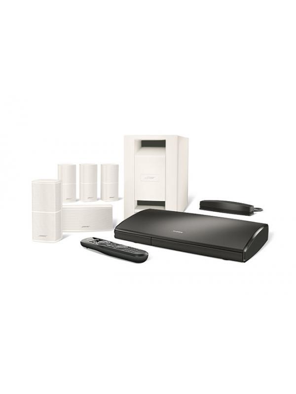 """Sistemas de cine en casa 5.1 Bose Lifestyle SoundTouch 535 - Sistema de sonido envolvente para películas, deportes, juegos y música. Incluye adaptador Sound Touch Wi-Fi Adapter que permite escuchar internet radio , música desde el ordenador/NAS, Spotify, Deezer y gestión de contenidos multiroom la aplicación """" SoundTouch"""" de Bose gratuita para Tabletas y Smartphones. Compatible 3 D .No compatible ni BOSE LINK ni con AIRPLAY."""