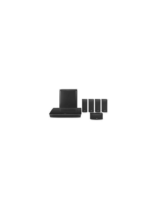 Sistemas de cine en casa 5.1 Bose Lifestyle 600 - Sistema de sonido envolvente para películas, deportes, juegos y música.