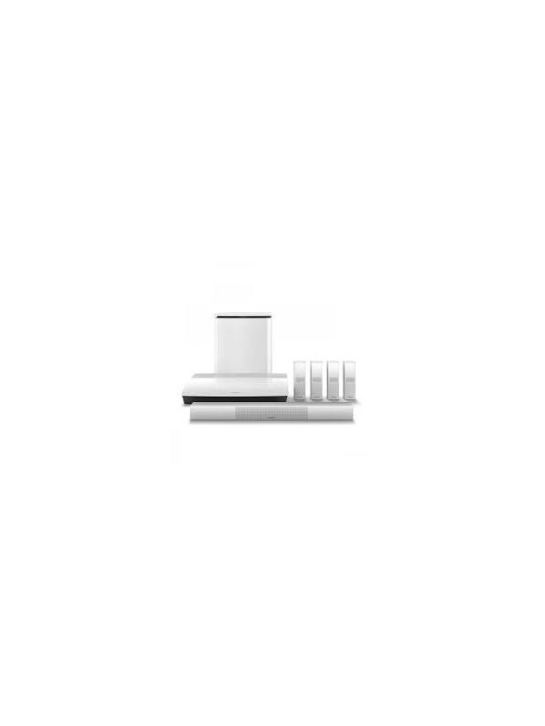 """Sistemas de cine en casa 5.1 Bose Lifestyle 650 - Sistema de sonido envolvente para películas, deportes, juegos y música. Integra adaptadorSoundTouch Wi-Fi Adapter ( 2.4 o 5 GHZ ) que permite recibir bluetooth escuchar internetradio , música desde el ordenador/NAS, Spotify, Deezer y gestión de contenidos multiroom laaplicación """" SoundTouch"""" de Bose gratuita para Tabletas, smartphones y ordenador. La señalBluetooth puede ser enviada a resto de productos SoundTouch independientemente de la generacióna la que pertenezcan"""