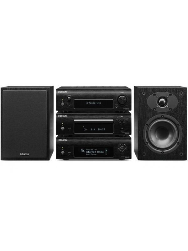 MINICADENA D-F109CN DENON - El predecesor del sistema F109 se forjó una gran credibilidad por su excepcional rendimiento de audio y el acabado de alta calidad de todos sus componentes.