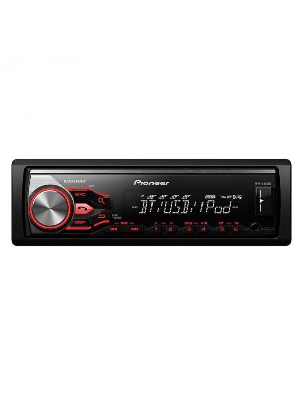 RADIO con RDS, Bluetooth, USB MVH-X390BT PIONEER - RADIO USB PIONEER MVH-X390BT CON BLUETOOH MANOS LIBRES Y AD2P, CONTROL DE IPOD Y SISTEMA MIXTRAX.