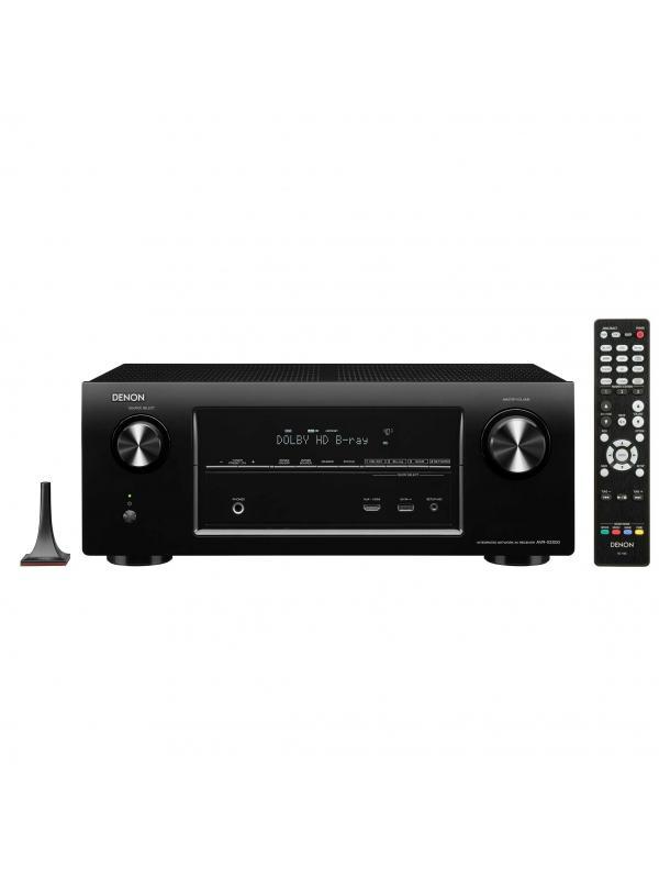 RECEPTOR A/V DENON AAVR-X2300 - Receptor de audio/vídeo de alta definición DENON.
