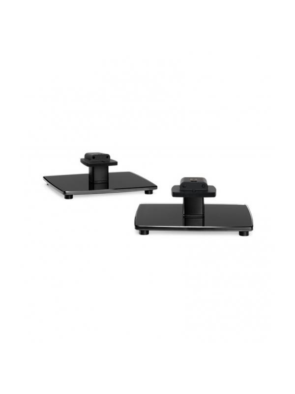 Soportes de sobremesa de aluminio BOSE OmniJewel™ table stands - Soportes de pie de aluminio extruido con bases de vidrio templado que dan una imagen excelente al altavoz a la vez que permiten esconder los cables .Diseñados para optimizar la experiencia sonora .  Se venden en pareja . Altura : 96.5 cm.