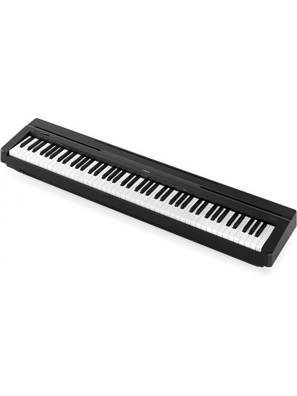 PIANO DIGITAL YAMAHA P45 - La autenticidad de su sonido de piano y del tacto de sus teclas hace que tocar este sencillo modelo resulte realmente fácil.