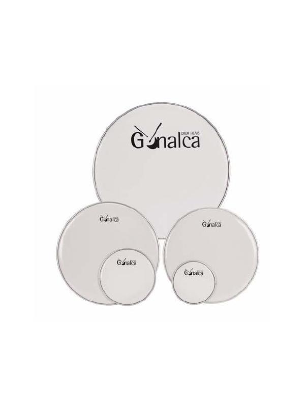 PARCHE BATIDOR GONALCA BLANCO - Parche Batidor Gonalca en color Blanco.