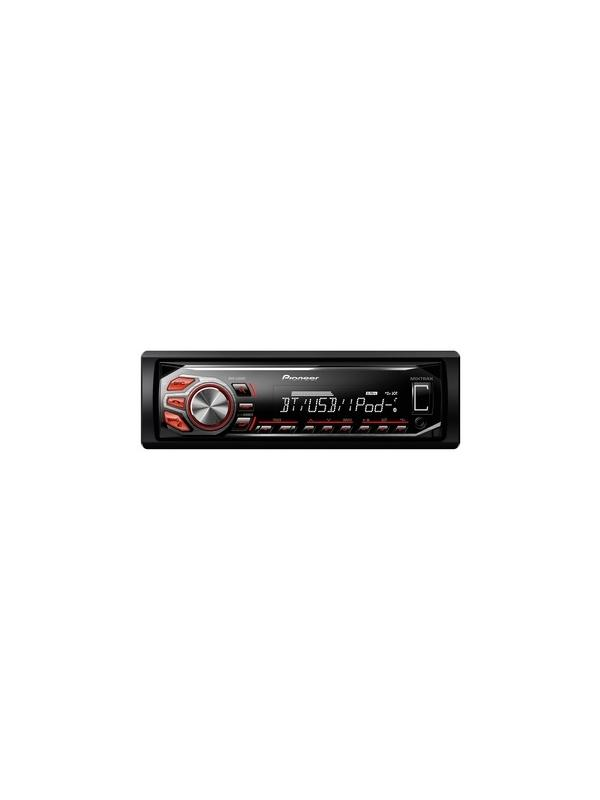 RADIO CON RDS MVH-X580BT PIONEER - Radio con RDS, Bluetooth, USB frontal iluminado, Control Directo para iPod/iPhone. Reproducción WMA/MP3. Compatible con Android Media