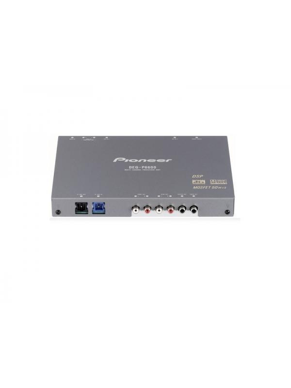 PROCESADOR DIGITAL DE SEÑAL (DSP) DEQ-P6600 PIONEER - Este procesador digital de señal combina perfectamente con los equipos AVH-P6600 o DVH-P5000MP para ofrecerle un procesamiento de audio multicanal magnífico