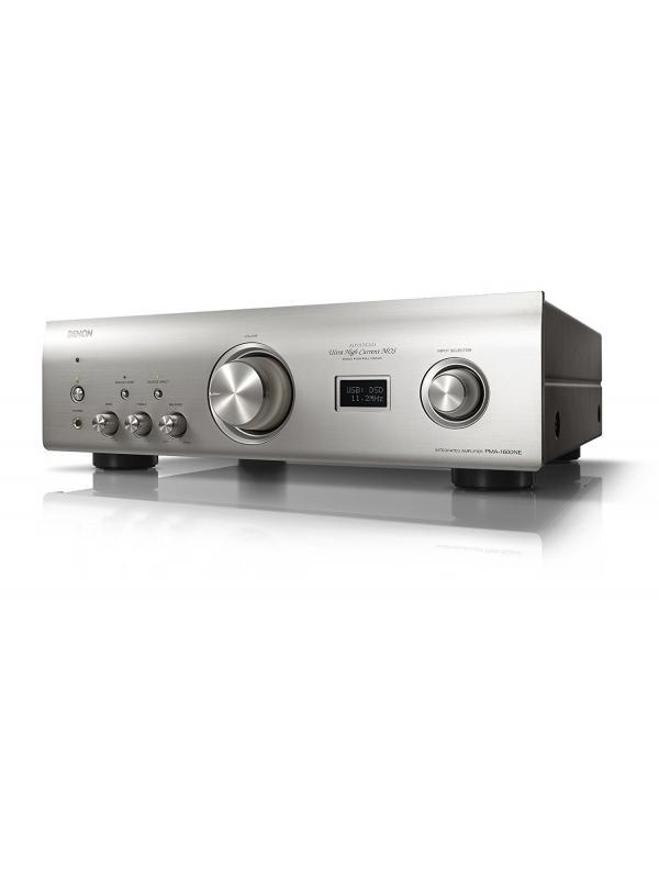 AMPLIFICADOR INTEGRADO DENON PMA-1600NE - El PMA-1600NEes un amplificador integrado que reproduce fielmente una gran variedad de fuentes de música, desde giradiscos analógicos hasta las fuentes de sonido más avanzadas de un PC.